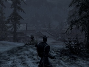 A cold swamp, Skyrim can suck my scaly tail!